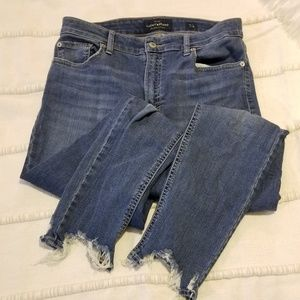 Lucky Brand distressed jegging jeans